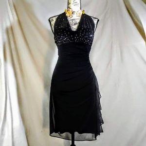 Vintage Blondie nites black dress size 3